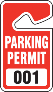Parking Permits required for Bentley Square Condo Association